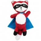 "Rowdy Rescuers Tricky Sam The Fox 11"" Dog Toy 
