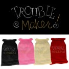 Trouble Maker Rhinestone Knit Pet Sweater | PrestigeProductsEast.com