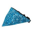 Turquoise Western Bandana Pet Collar | PrestigeProductsEast.com