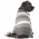 Hotel Doggy Striped Rib Turtleneck Sweater | PrestigeProductsEast.com