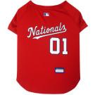 Washington Nationals Baseball MLB Pet Jersey | PrestigeProductsEast.com