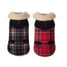 Wool Plaid Shearling Jacket  | PrestigeProductsEast.com