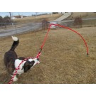X Large Tether Tug w/ Rope Toy for dogs Over 60 pounds