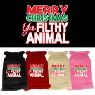 Ya Filthy Animal Screen Print Knit Pet Sweater | PrestigeProductsEast.com