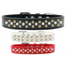 Sprinkles Dog Collar Pearl and Yellow Crystals | PrestigeProductsEast.com