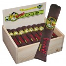 Yeowww! 24 Cigars with Birch Wood Display Box